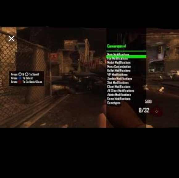 BO2 full zombie mod menu for XBOXONE/360 NWT